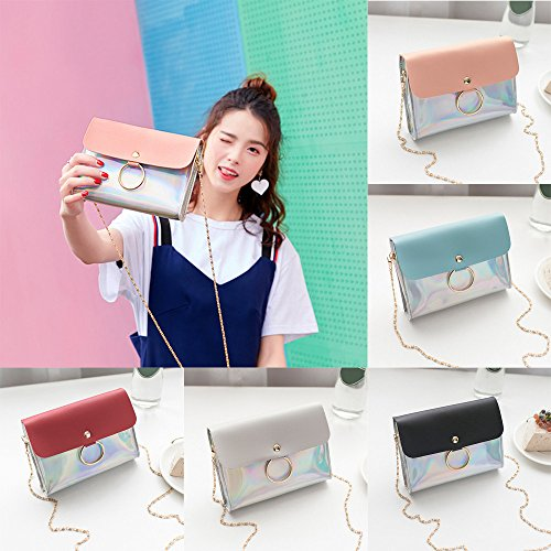 X iPhone Spritumn Wallet Bag Crossbody Shoulder Body for 8 Phone Cellphone Bag Bag Small Coin Message Bag Bag Plus Purse Cross Sequins Black Mini Bag Fashion Travel Women PrPSxwqgT