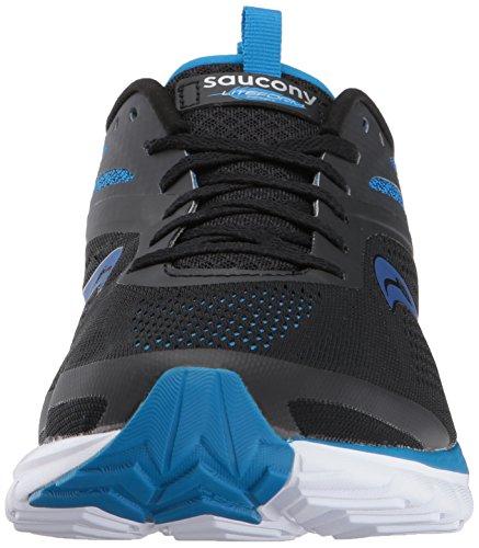 Saucony Hommes Liteform Miles Chaussure De Course Bleu / Noir