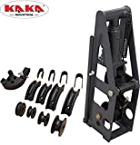 KAKA Industrial HB-8 Heavy-Duty 8 Ton Hydraulic Roll Cage Tube Bender, Solid Construction and High Precision Metal Tube Bender with 5 Dies