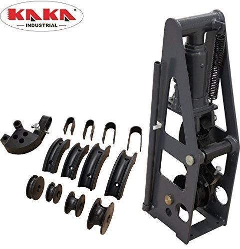 KAKA Industrial HB-8 Heavy-Duty 8 Ton Hydraulic Roll Cage Tube Bender, Solid Construction and High...