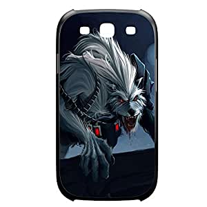 Warwick-009 League of Legends LoL For Case Samsung Galaxy S3 I9300 Cover Plastic Black