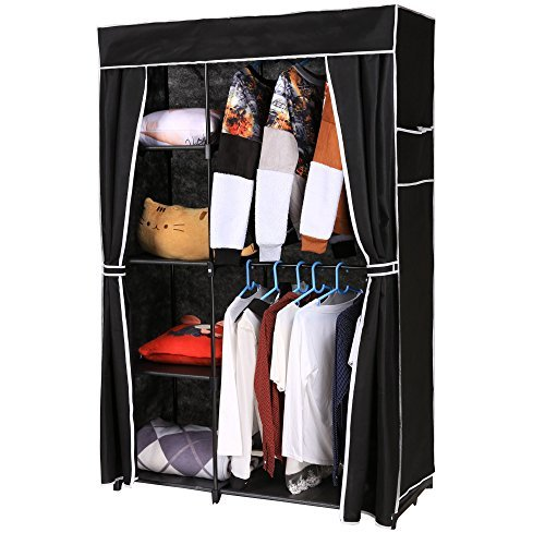 homdox-portable-clothes-closet-wardrobe-storage-organizer-with-non-woven-curtain-black-tube-black-cl