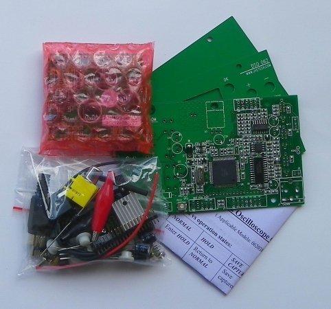 JYE Tech 06204KP 062 LCD oscilloscope DIY kit