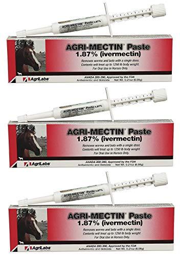 (3 PACK ★ Agri-Mectin Paste ivermectin wormer)