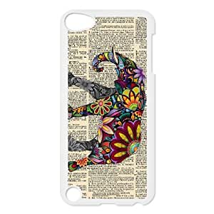 QYu505327 Brand New Personalized 2D Hard Phone Case for Ipod Touch 5 with Elephant by QYuCcase