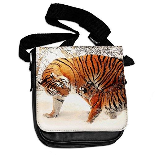 Cucciolo di tigre e animali borsa a tracolla 304