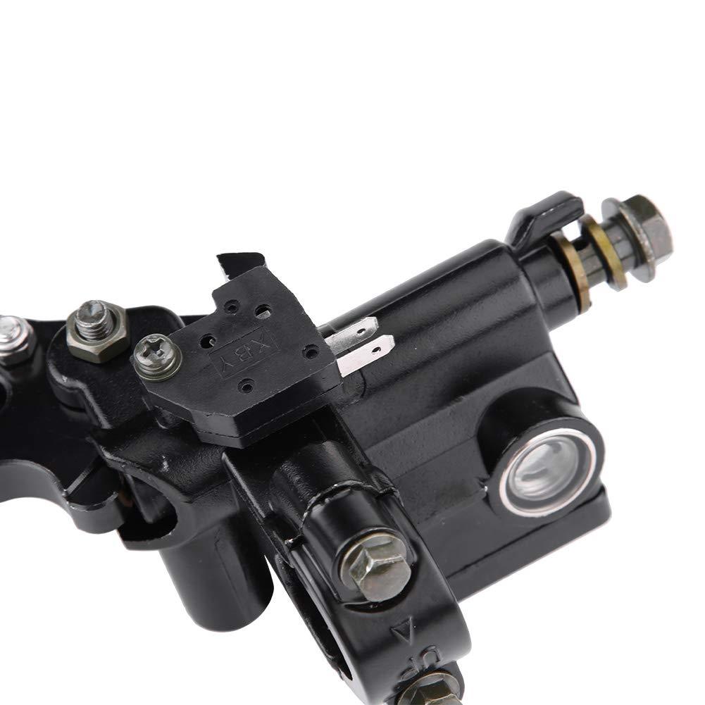Keenso 2 Stk//1 Paar 7//8 Zoll 22mm Universal Motorrad Bremse Kupplung Hauptbremszylinder Reservoir Hebel