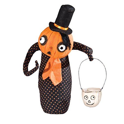 Gallerie II Gathered Traditions Homer Pumpkin Head Guy
