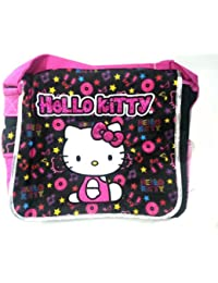 Messenger Bag - Hello Kitty - Musical Black