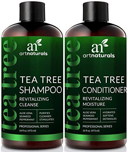 ArtNaturals Tea-Tree-Oil Shampoo and Conditioner Set -  –