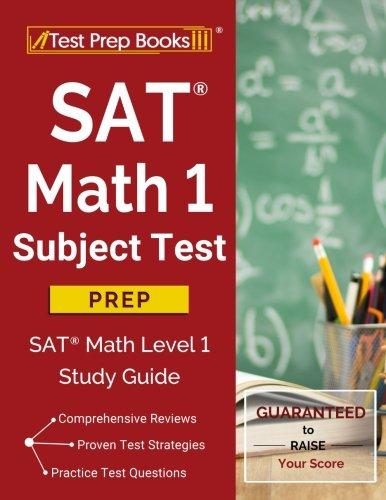 SAT Math 1 Subject Test Prep: SAT Math Level 1 Study Guide