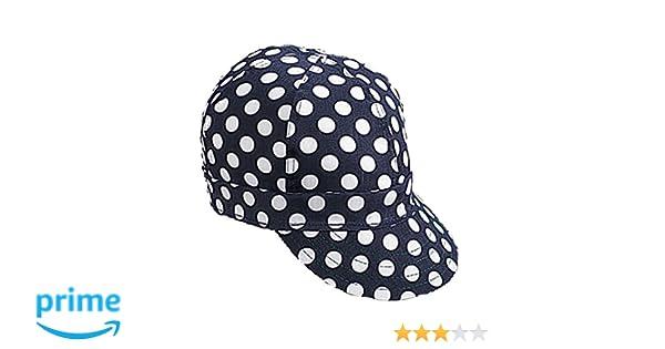 e4468c49ce4 Mutual Industries 7322-0-0 Kromer Blue  White Dot Style Welder Cap ...