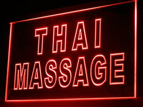 Thai Massage Shop Led Light Sign by Fatianst
