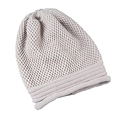 Winhurn Winter Warm Women Knitted Beanie Hat Baggy Skull Cap for Outdoor