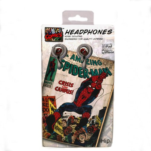 iHip Marvel Comics Spider Man Earbuds product image