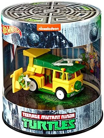 Mattel SDCC 2019 Exclusive Hot Wheels TMNT Party Wagon Vehicle