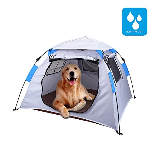 Lumsing Large Pop Up Camping Dog Pet Tent,Automatic Insta...