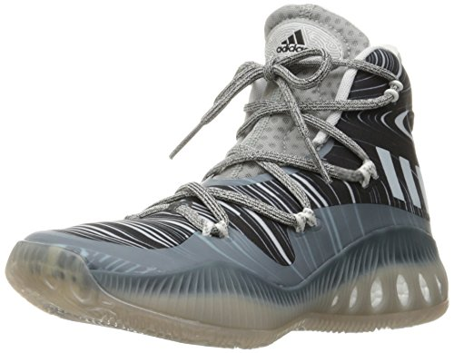 adidas Men's | Crazy Explosive Basketball Shoes, Collegiate White/Dark Navy, ((5.5 M US)
