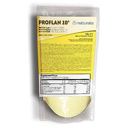 Perfect Nutrition Naturals Pro Flan 10´, Suplemento para Deportistas, Sabor a Limón -