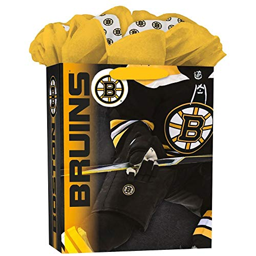 Turner Licensing Sport Boston Bruins Large Gogo Gift Bag (8931032) ()