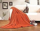 Elegance Linen® Micro-Fleece Ultra Plush LUXURY Solid Blanket - Best Reviews Guide