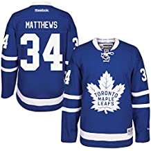 Men's Toronto Maple Leafs #34 Auston Matthews Royal Home Premier Jersey