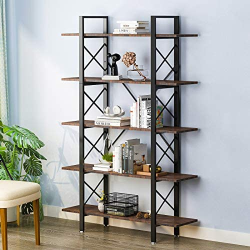 YITAHOME 5 Tier Bookshelf