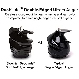 double edged auger