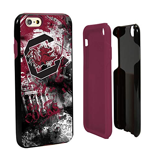 Dog Protector Case - Guard Dog South Carolina Fighting Gamecocks Paulson Designs Spirit Hybrid Case for iPhone 6 / 6s with Guard Glass Screen Protector