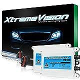 XtremeVision 55W AC Xenon HID Lights with Premium Slim AC Ballast - H11 6000K - 6K Light Blue - 2 Year Warranty