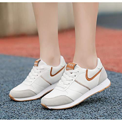 Doloridos Cordones Zapatos Los Ligera Entrenamiento 36 b Correr Sneaker Plantar Ultra Ayuda Gimnasio Running Casual Con Fasciitis Zixuap Para Pies Zapatos De Mujer wSSq76R