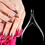 1 Pc Nail Clipper Cuticle Nippers Trimmer Edge Cutter Scissor Professional Manicure Trim Trimmers Fingernail Toenail Toe Foot Heel Skin Brainy Popular Heavy Duty Tools Large Men Gift Safety Travel Kit