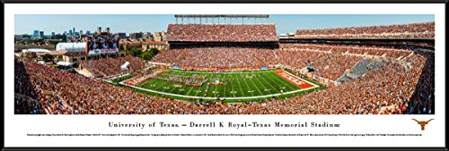 (Texas Longhorns Football - 40.25x13.75-inch Standard Framed Picture by Blakeway)