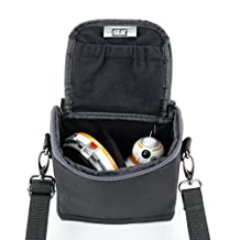For Sphero Star Wars BB-8 App-Enabled Droid Carrying Case with Padded Interior Lining , Adjustable Divider , Shoulder Strap and Accessory Pocket by USA GEAR