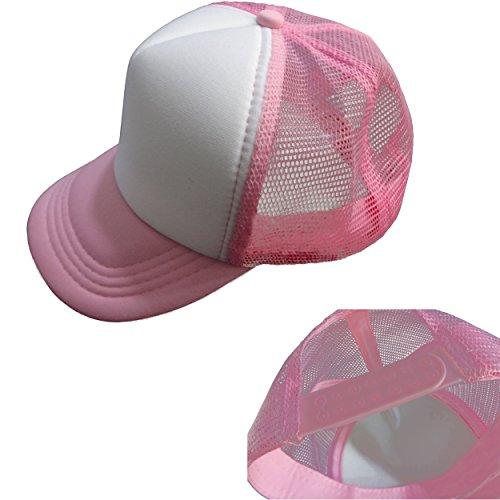 Tazprab Custom Flower-3D Rose Kids Mesh Trucker Cap Hat Adjustable Baseball Caps by Tazprab (Image #5)