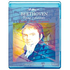 Beethoven Piano Favorites - Acoustic Reality Experience [7.1 DTS-HD Master Audio BD25 Disc] [Blu-ray] [Alemania]