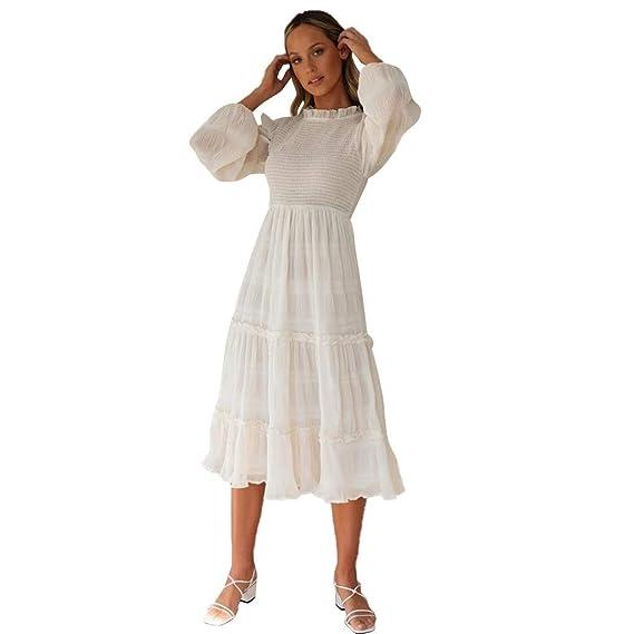 Vectry Vestido De Fiesta Boda Mujeres Elegantes Damas Slim ...