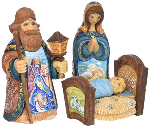 G. Debrekht Holy Family Figurine (Set of 3) by G. Debrekht