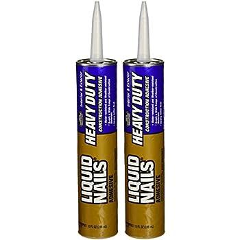 Liquid Nails LN-903 2 Pack Heavy Duty Construction Adhesive, Tan