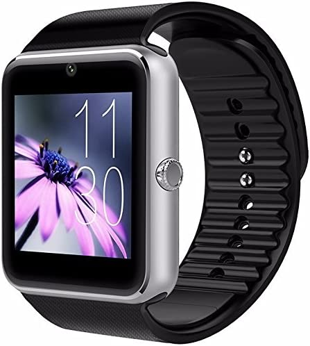 CNPGD Bluetooth Smart Watch(Partial Compatible for IPHONE)+(Full Compatible for Android phone) +Unlocked Watch Cell Phone+Fitness Tracker Camera ...