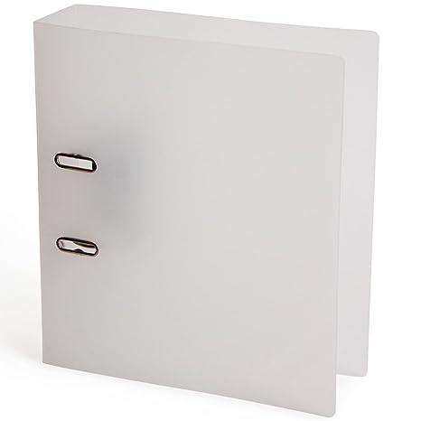 Paperchase A4 esmerilado blanco archivador