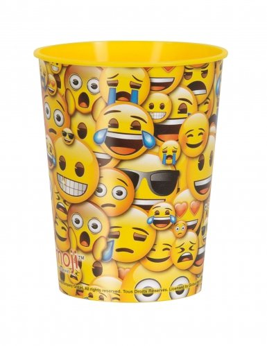 Emoji Smile Cup 16oz [Contains 12 Manufacturer Retail Unit(s) Per Amazon Combined Package Sales Unit] - SKU# 50606