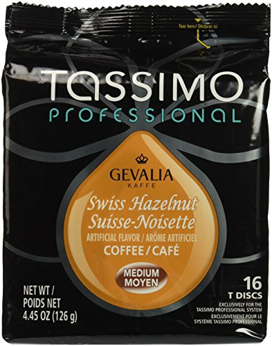 Tassimo Gevalia Swiss Hazelnut Coffee T Discs (16 Count)