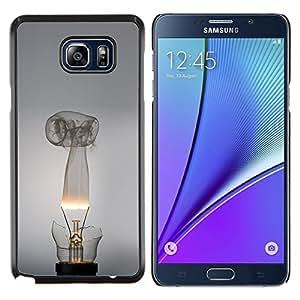 LECELL--Funda protectora / Cubierta / Piel For Samsung Galaxy Note 5 5th N9200 -- Broken bombilla --