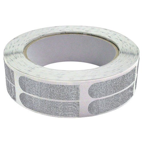 Real Bowlers Tape Silver Roll of 500- 1/2 Inch by Real Bowlers Tape
