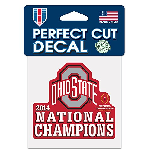 National Football Champions Ohio State University Perfect Cut Color Decal 4