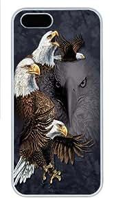 Find 10 Eagles Custom iPhone 5s/5 Case Cover Polycarbonate White,Original Design