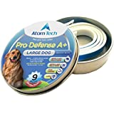 [New 2018 Version] Flea and Tick Collar 9-MONTHS Pro Deffence A+ for Dogs and Cats - Best Natural Pet Protection Kills, Repels, & Prevents Fleas, Pests - Waterproof М2