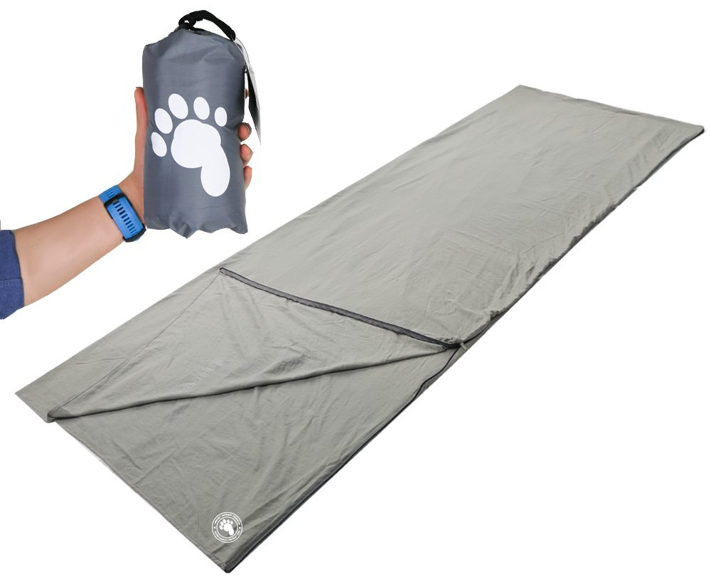 Bigfoot Outdoor Products 100% Cotton Sleeping Bag Liner/Backpacking Travel Sheet