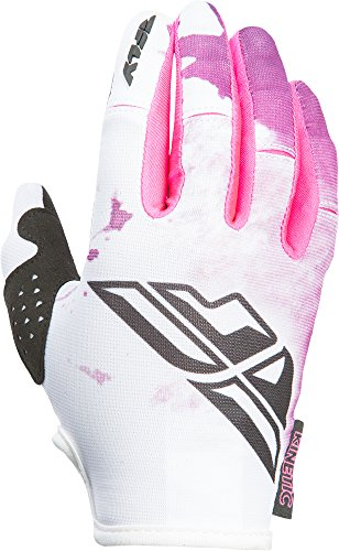 Fly Kinetic Gloves - Fly Racing Unisex-Adult Kinetic Women's Gloves (Pink/Purple, X-Small)